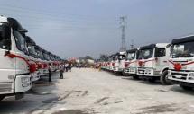 联合卡车搅拌车批量交付40辆,广州市场再掀购买热潮!