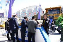徐工重卡自卸车XG90亮相第十四届鄂尔多斯博览会