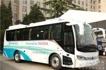 三強協力優勢互補豐田、福田、億華通合作推出氫燃料電池客車