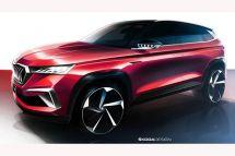 斯柯达VisionGT设计草图中国市场专属/6月正式发布