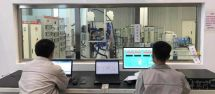 一汽解放的燃料电池发动机测试台架正式运转