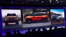 曝福特Bronco五门版预告图硬派SUV2020年回归?