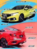 更个性化新款思域增加黄色车身/换挡拨片将于5月17日上市