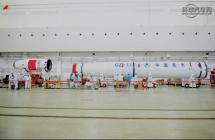 WEY品牌联合命名火箭完成涂装,中国首次海上火箭发射在即