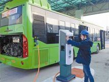 """合肥经开区新能源公交车更新提速全面实现""""绿色公交"""""""