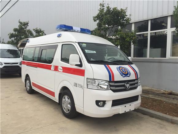 福田G7救护车现车_  福田G7救护车厂家报价