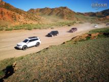 实力穿越新疆努尔加大峡谷——福特撼路者车友活动