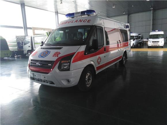 福特全順V348救護車廠家大促銷