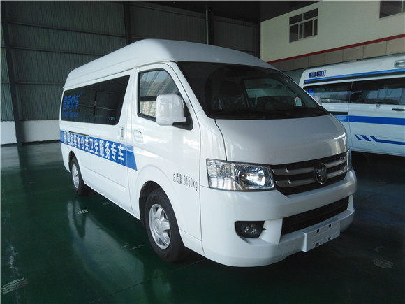 移动健康体检车_福田G7公共卫生服务车