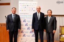現代汽車首席副會長鄭義宣出席G20倡導氫能發展