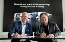 沃尔沃集团携手NVIDIA,开发自动驾驶卡车的高级AI平台