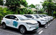 威馬EX5成世界新能源汽車大會官方出行用車為新能源產業跨界融合賦能