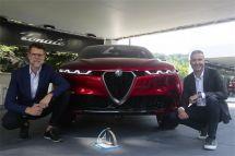 意式典范再添殊榮阿爾法·羅密歐概念車Tonale榮獲2019年度汽車設計大獎