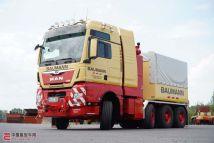 德意志最强重拖诞生!曼恩TGX41.6408x6大件牵引车交付Baumann公司