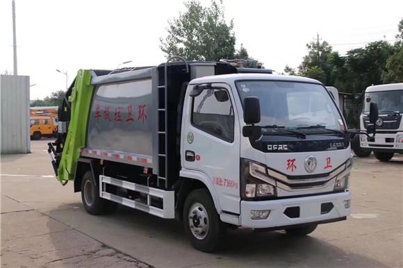 國六東風6方壓縮式垃圾車多少錢_價格_廠家