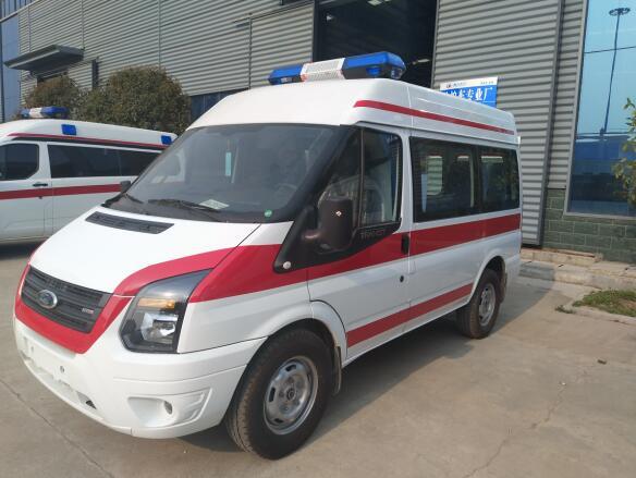 福特新世代V348短軸柴油版救護車價格_廠家