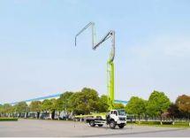 中聯重科4.0泵車又添38米新銳小身材大能量助力城鎮化建設