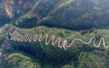 漂亮!玉柴重卡明星YC6K強勢挑戰西南高山陡坡