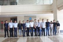 福建奔馳公司領導到渤海活塞考察訪問