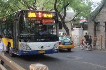 """运营在北京""""龙脊公交线路""""福田欧辉实力提供品质服务"""