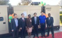 在赞比亚,潍柴发电机组广受热捧