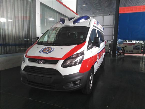国六福特全顺V362救护车全面上市