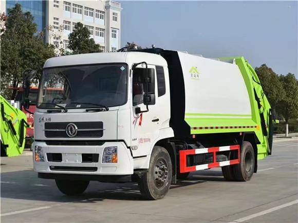 国六东风天锦12方压缩垃圾车多少钱一辆?