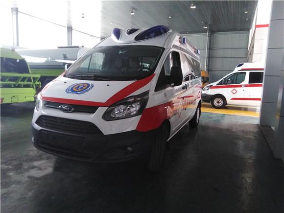 国六福特V362救护车价格_厂家_多少钱一辆?