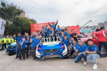 2019CRC寶豐站,斯巴魯中國魔力拉力車隊再奪數冠