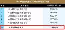 玲珑集团入围中国战略性新兴产业领军企业100强