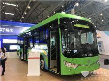 """客車動力""""終極方案""""安凱10.5米氫燃料客車展會""""秀肌肉"""""""