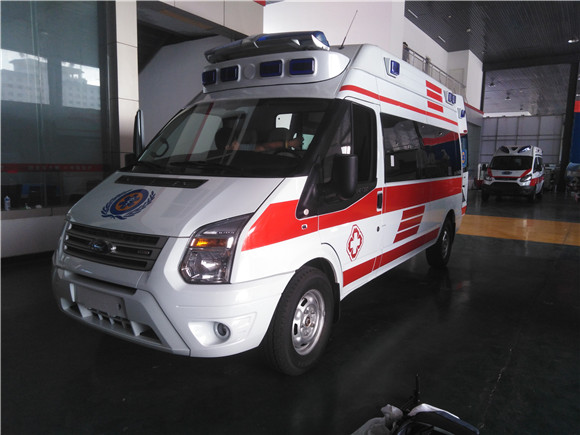 福特新全顺V362救护车现车_价格特惠销售