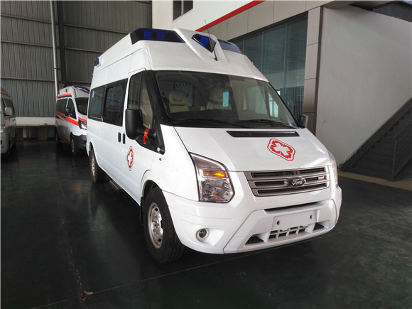 福特新全顺V362救护车厂家_价格特惠销售