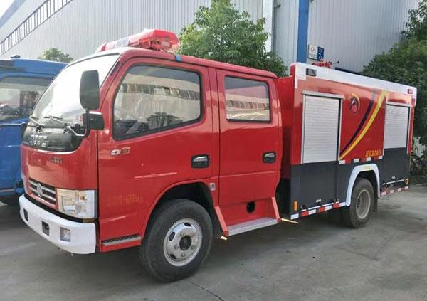 东风2吨水罐消防车价格_厂家