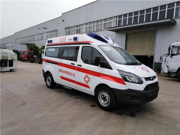 國六福特全順V362救護車價格全新報價