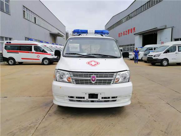 國六金杯新快運120救護車價格_廠家直銷