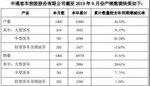 数据看客车|中通客车前9月售车同比增长31%的商业密码