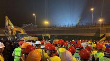 江蘇省交通運輸廳:高架橋垮塌的原因可能為貨車超載