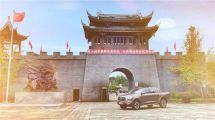 在重慶開5米4的長城炮皮卡,..