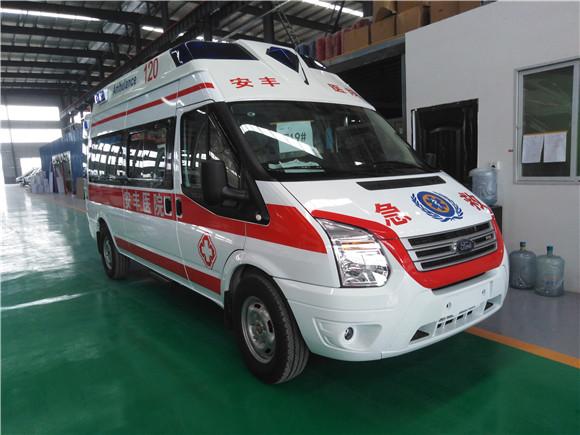 福特醫療救護車_全順V348長軸高福星頂監護型救護車
