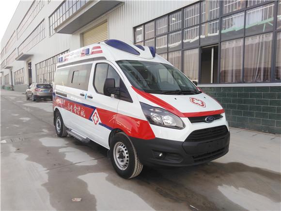 福特全顺自动挡救护车_V362救护车