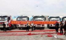 红岩瑞江搅拌车批量挺进广西服务混凝土行业龙头企业