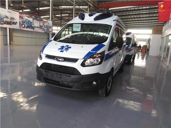 福特医疗救护车—新全顺V362救护车价格