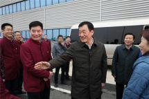 江西省委书记、省人大常委会主任刘奇调研江西大乘汽车科技产业园