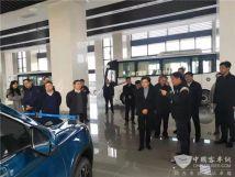 南京市委副书记调研开沃集团总部鼓励开沃新能源汽车发展