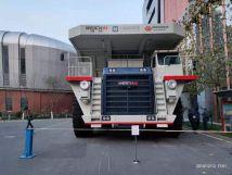 永濟電機牽引首臺國產混合能源礦用卡車自卸車成功下線