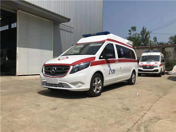 国六奔驰救护车照片/奔驰救护车配置