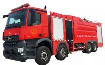 上海金盾高层供水消防车顺利完成供水测试