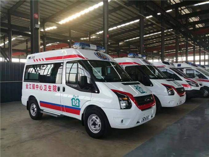 国六救护车多少钱—福特救护车厂家—v348救护车价格