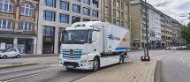戴姆勒明年将推电动垃圾车基于电动卡车奔驰eActros